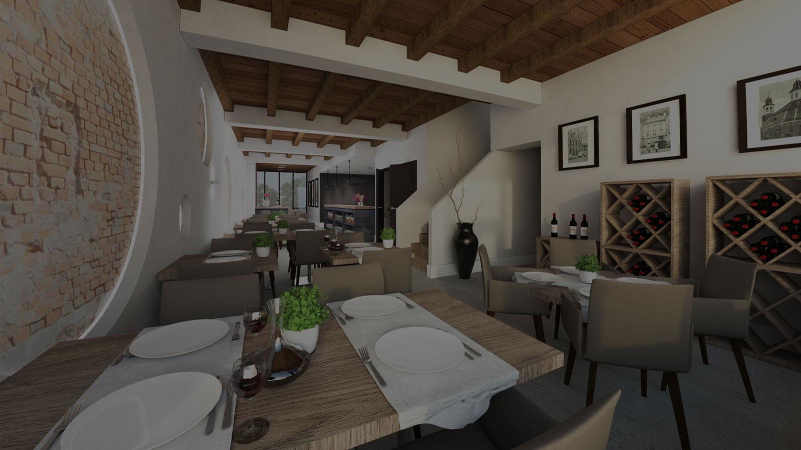 Interieur Ontwerp - Restaurant Oss